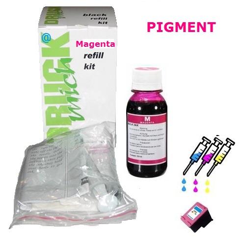 Plnící sada pro náplně HP č.22, č.28, č.57 Magenta Pigment / 100ml