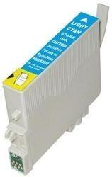EPSON T0485 XL foto-azurová kompatibilní náplň / 18ml
