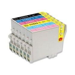 EPSON T0487 XL sada kompatibilních náplní