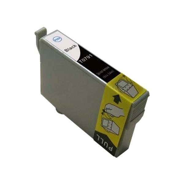 EPSON T0791 černá kompatibilní náplň / 14ml