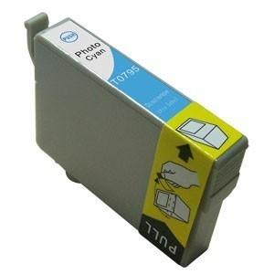 EPSON T0795 sv.azurová kompatibilní náplň / 14ml